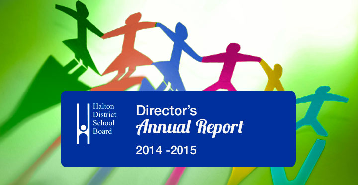 Directors Annual Report 2014-2015 Header