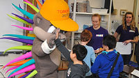 Pan Am/Parapan Am Games athletes, mascot inspire students this week