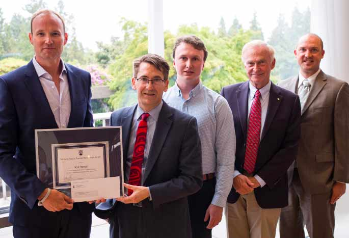 GDHS Teacher Kyle Stewart Receives University of British Columbia Mentorship Award